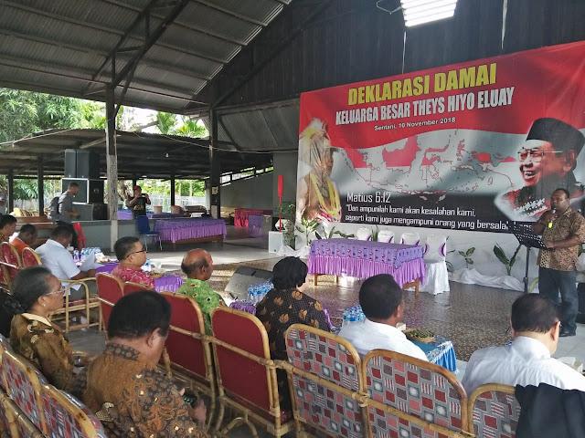 Hadiri Deklarasi Damai di papua, Lili Wahid: Saya akan Usulkan Theys Hiyo Eluay Menjadi Pahlawan Nasional