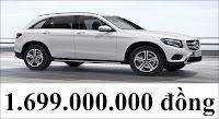 Giá xe Mercedes GLC 200 2018