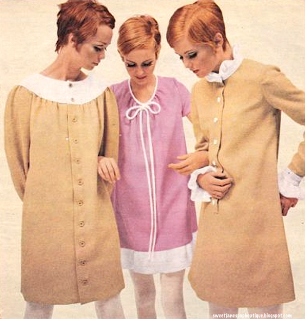 TWIGGY MODELLING MARY QUANT DESIGNS #WEWANTQUANT