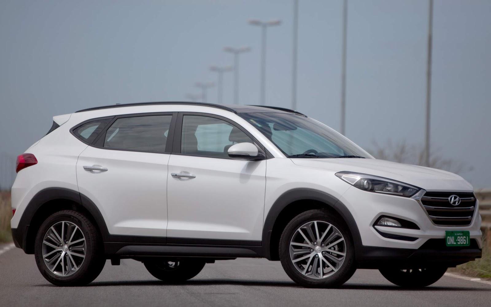Hyundai new tucson 2017 brasil pre o