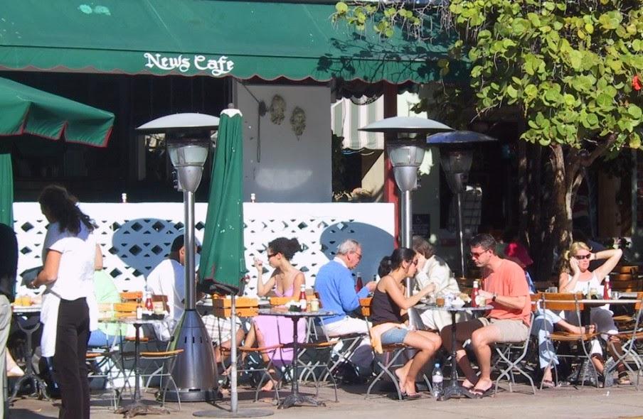 News Café Restaurante Miami Beach