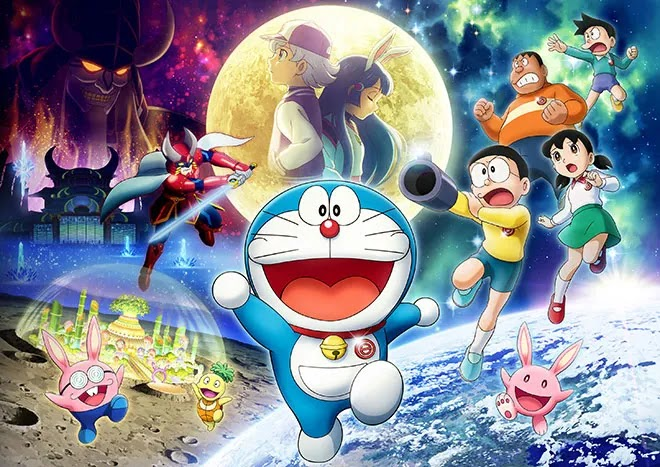 Doraemon the Movie: Chronicle of the Moon Exploration Ungkap Visualnya