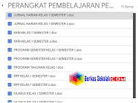 Perangkat Pembelajaran PJOK Kelas 1 Kurikulum 2013