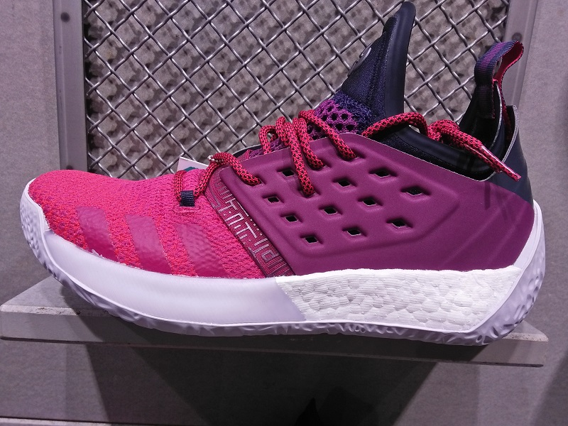 949dd5ea85d7 ... purchase here are in store images of the adidas harden vol 2 in both  ignite and