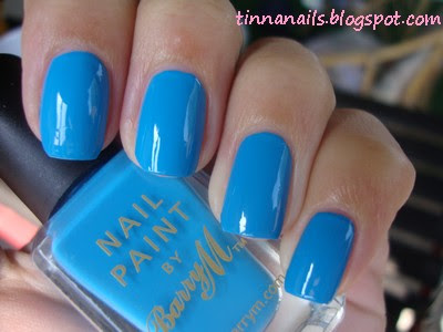 BARRY M - CYAN BLUE & KONAD
