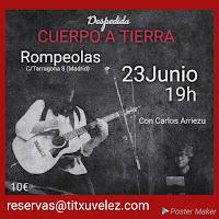 Concierto de Titxu Vélez en Rompeolas