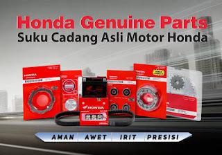Daftar Harga Sparepart Motor Honda