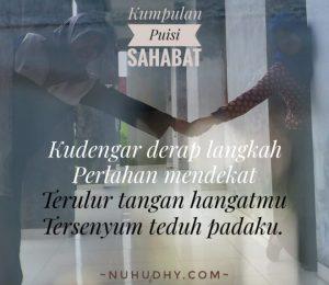 16 Puisi Sahabat Karya Generasi Muda 2019 Nuhudhy Com