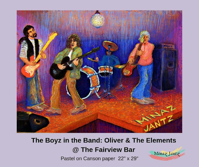 The Boyz in the Band Oliver & The Elements at the Fairview by Minaz Jantz