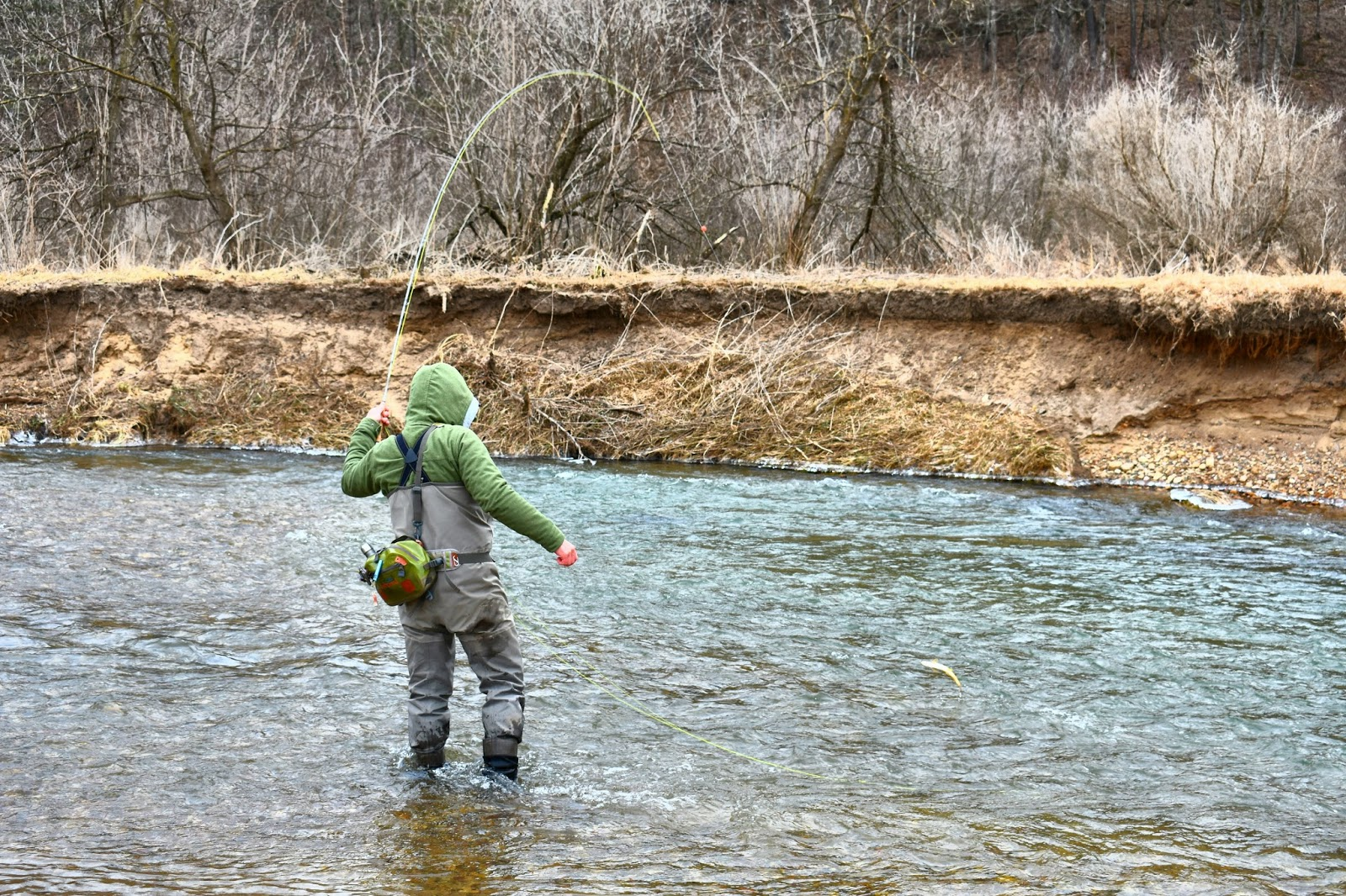 Carf outdoors mend it for Fishing the midwest