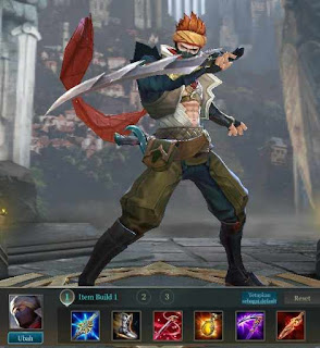 Build Item / Gear Terkuat Murad Arena of valor atau AoV - High Damage