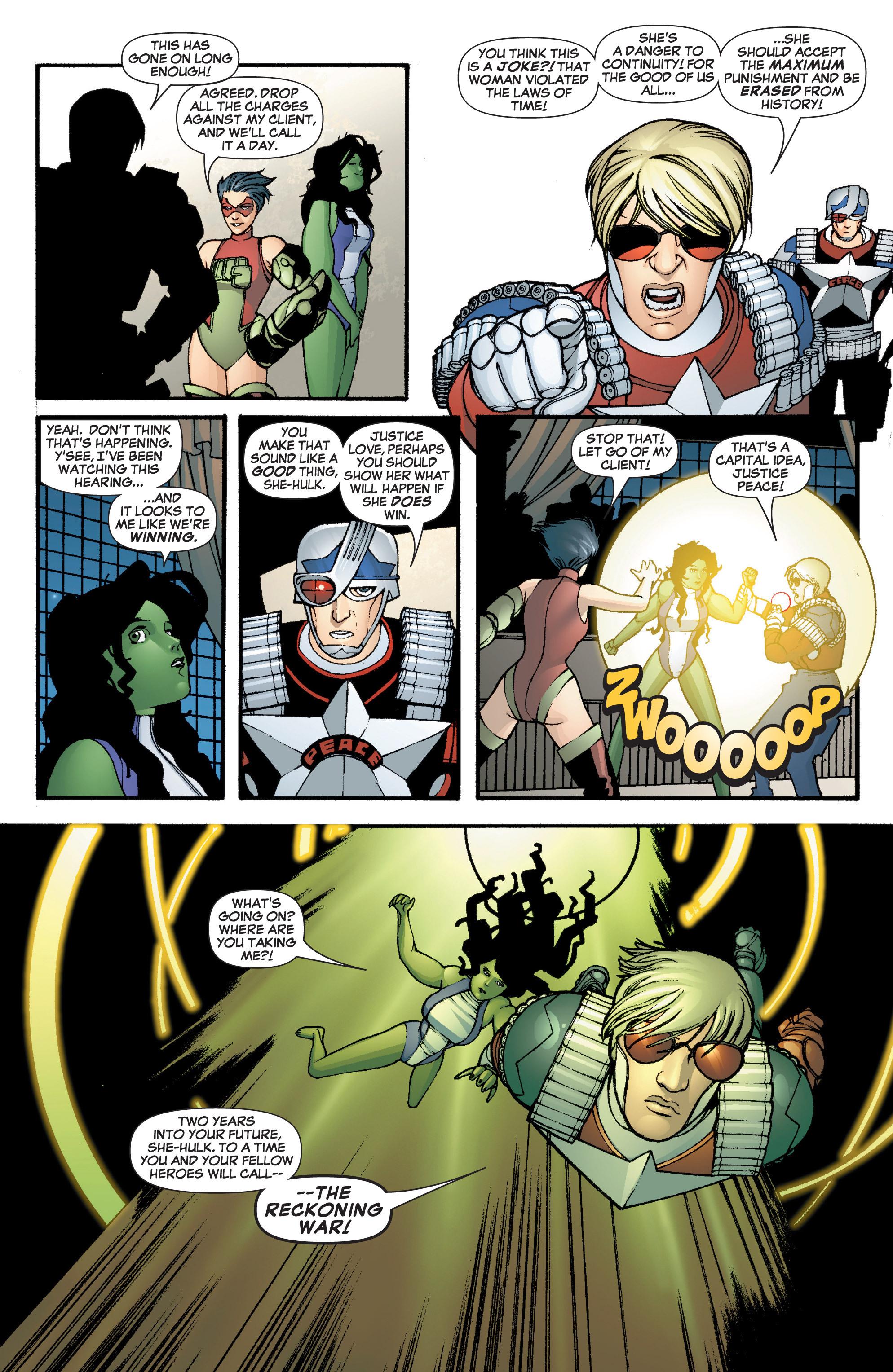 Read online She-Hulk (2005) comic -  Issue #3 - 26