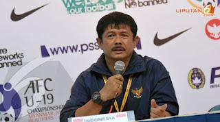 Indra Sjafri Dipecat sebagai Pelatih Timnas Indonesia U-19