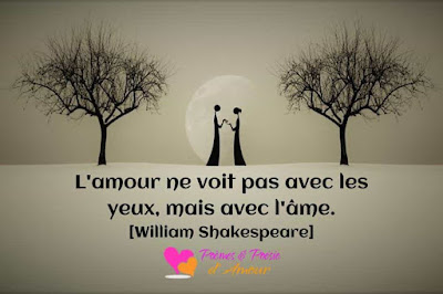Citation de William Shakespeare sur l'amour