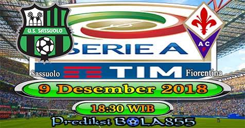 Prediksi Bola855 Sassuolo vs Fiorentina 9 Desember 2018