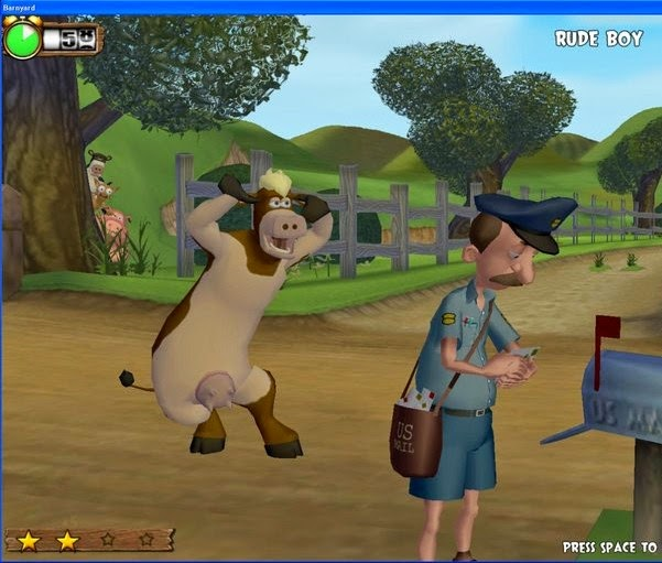Barnyard pc game