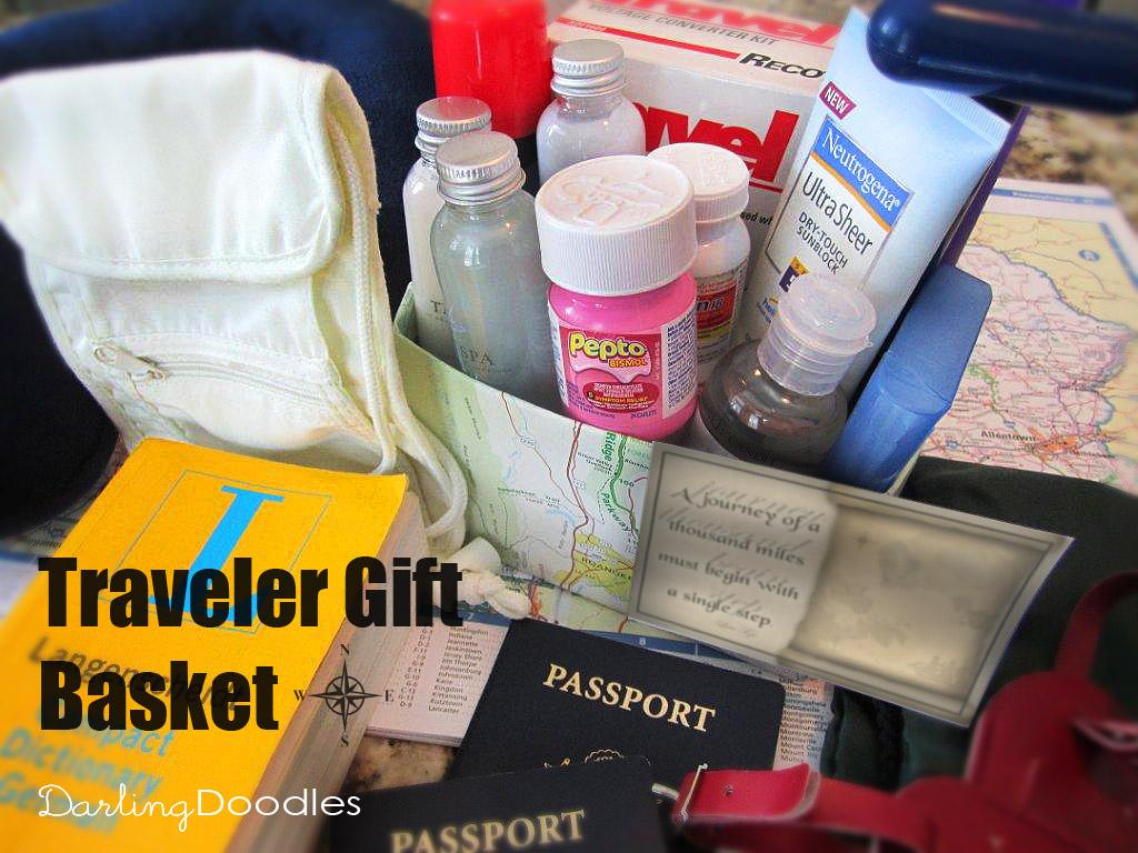 Travel Gift Basket Darling Doodles