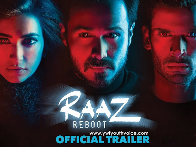 Raaz Reboot (2016) Official Movie Trailer Cover HD Poster Wallpaper Raaz 4 Emraan Hashmi