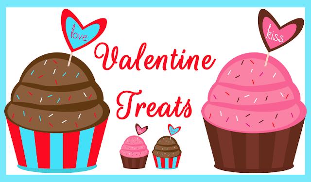 Valentine Cupcake Clipart