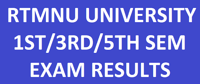 RTMNU Nagpur University Results