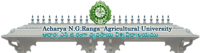 ACHARYA N.G.RANGA AGRICULTURAL UNIVERSITY : Notification for Admission to Post Graduate Courses - 2013-14
