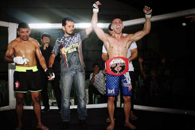 Com apoio da Seel, paraense participa de evento de MMA na África