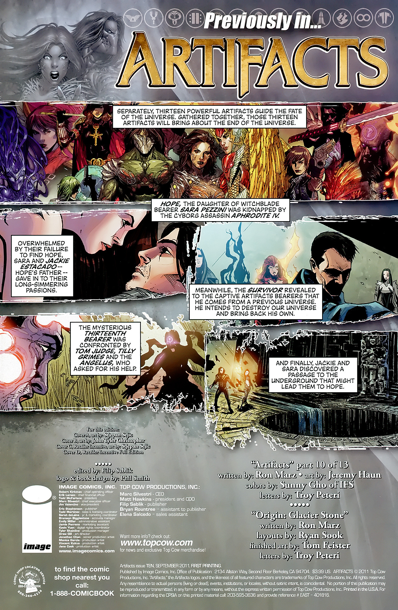 Read online Artifacts comic -  Issue #10 - 3