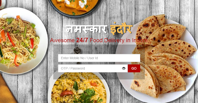 food delivery app Indore