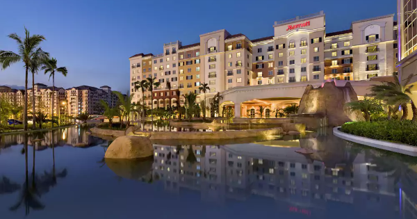 Manila Marriott Hotel, Pasay, Philippines