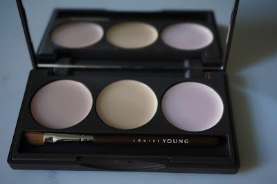 Louise Young Concealer Trio in Light