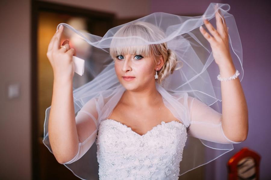 panna młoda, ślub