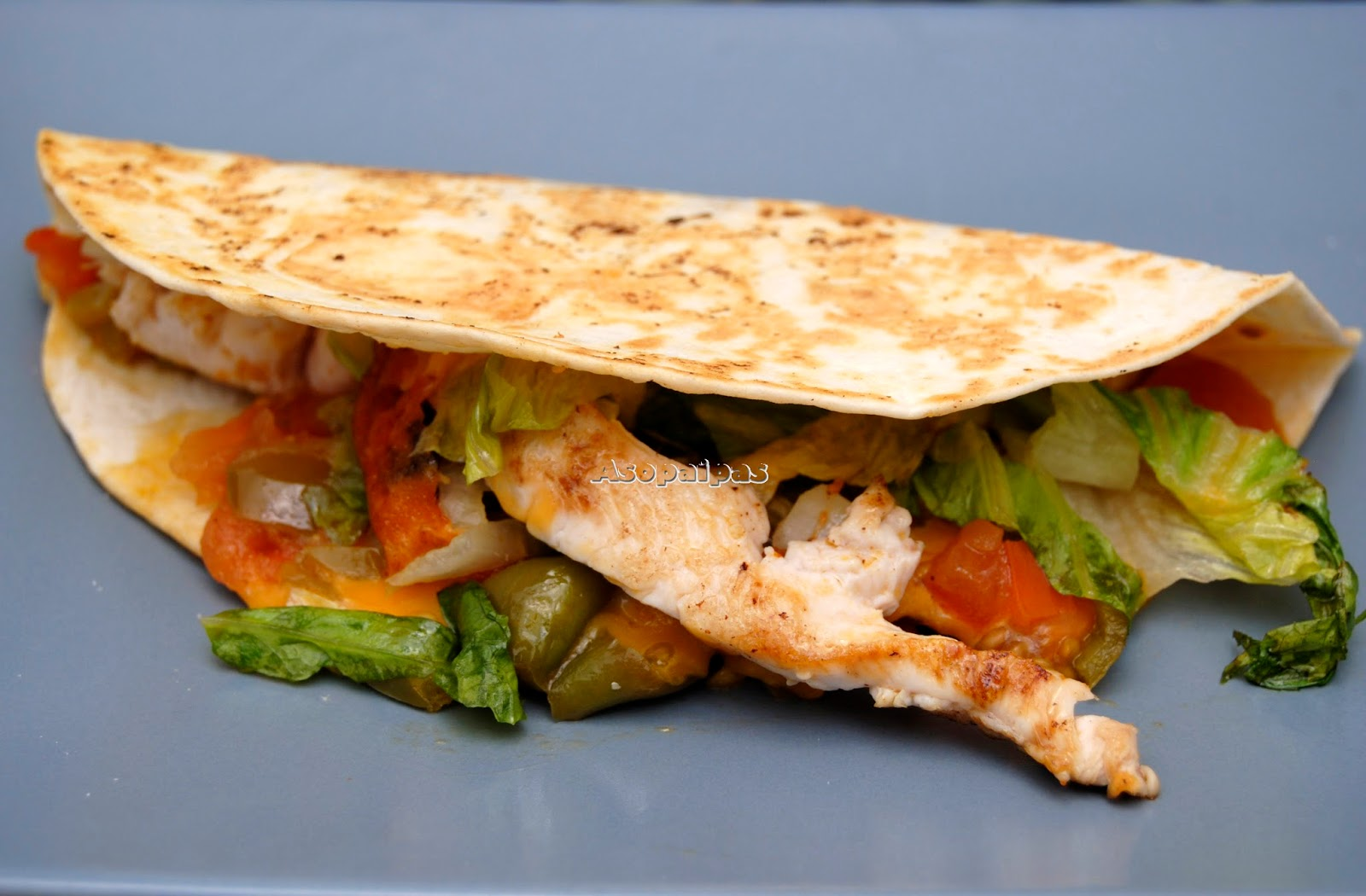 Tacos de Pollo y Queso Cheddar