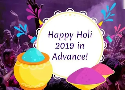 happy holi in advance images