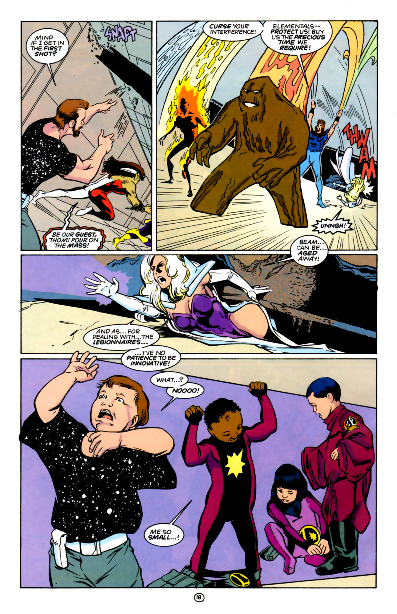 Legion of Super-Heroes (1989) 60 Page 17