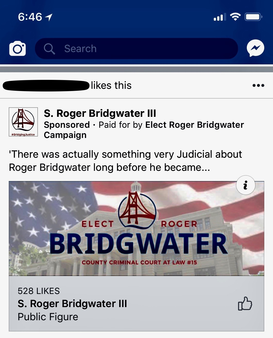Life at the harris county criminal justice center 2018 it was an ad for roger bridgwaters candidacy for harris county court at law 15 solutioingenieria