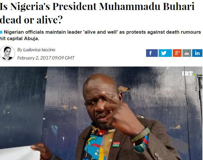 Is Nigeria's President Muhammadu Buhari dead or alive? - IBT