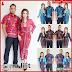 ZBT03909 Kebaya Batik Couple Ayra Lilit Garutan BMGShop