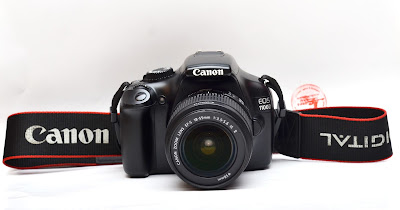 Canon Eos 1100D + Lensa 18-55mm IS II