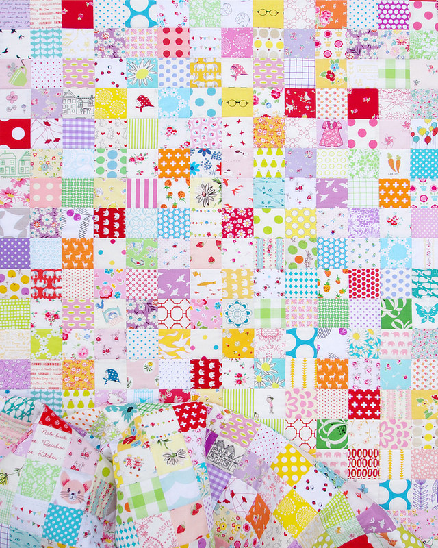 A Checkerboard Quilt | Red Pepper Quilts 2016