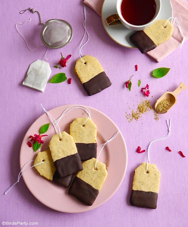 Recette Biscuits au Thé Earl Grey