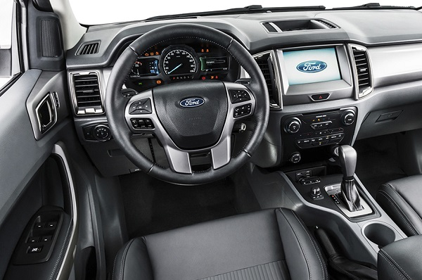 Interior Ford Ranger (2019)