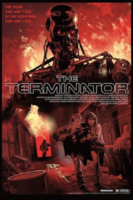 The Terminator T-800 Variant Screen Print by Stan & Vince x DaVinci's Dreams