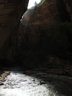 Zion National Park, Narrows, before