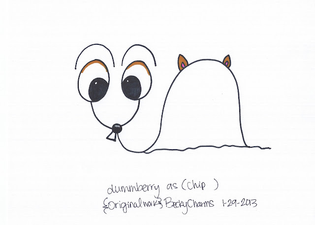 Dummberry in Disguise as Twin Chipmunks Causing Shenanigans, dummberry, cartoon, design,  sketch, drawing, illustration, costumes, 2013, beckycharms, San Diego, Disney, Disneyland, art,