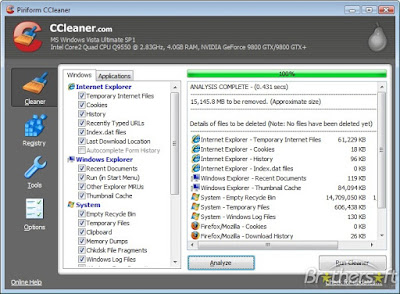 Download the latest version of CCleaner 5.31.6105 free