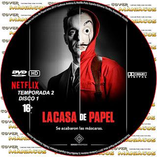 GALLETA[SERIE TV] LA CASA DE PAPEL TEMPORADA 2