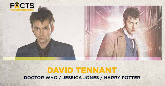 David Tennant to attend his first fan convention in Belgium