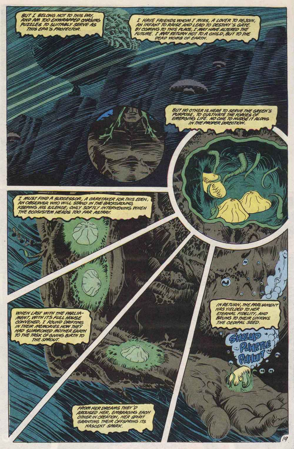 Swamp Thing (1982) Issue #89 #97 - English 20