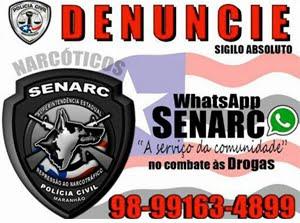 DENUNCIE - SENARC - NARCOTRÁFICO