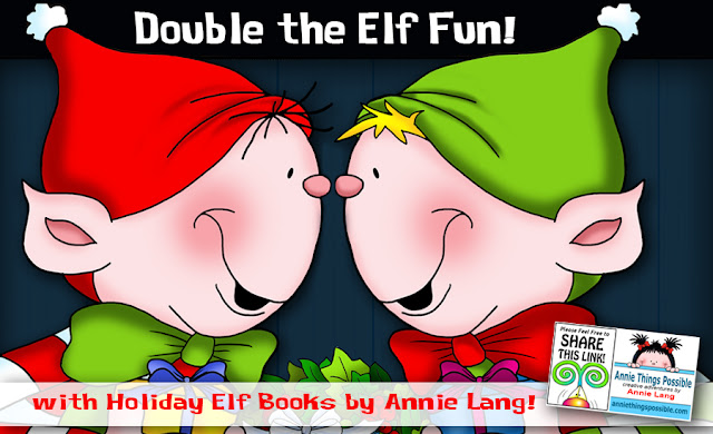 Get Annie Lang's Whimsical Elf storybooks direct from the author, Annie Lang.  Find this books deal and More at anniethingspossible.com
